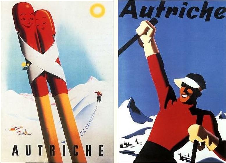 Links: Walter Hofmann, 1954 / Rechts: Joseph Binder, um 1934