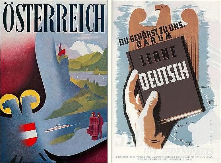 """Arbeiten von Heinz Reichenfelser in der deutschen Zeitschrift """"Gebrauchsgraphik"""", März 1943"""