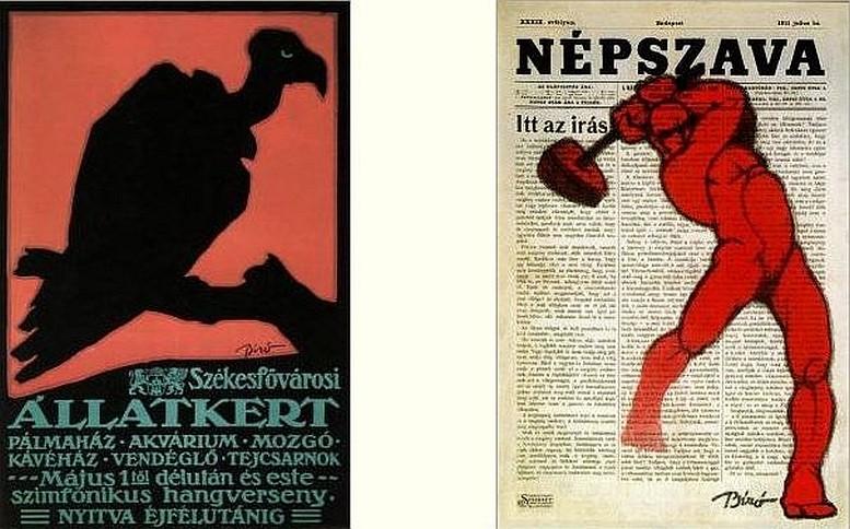 Plakat für den Budapester Tiergarten Entwurf 1912, Druck 1914 1912