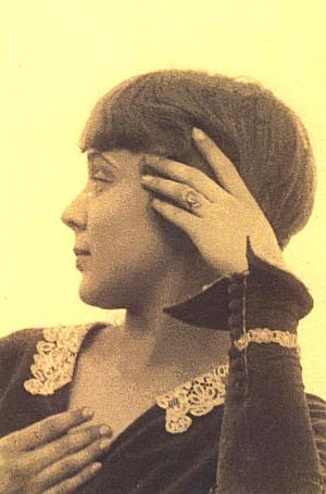 Margit Kováts (Doppler), um 1926
