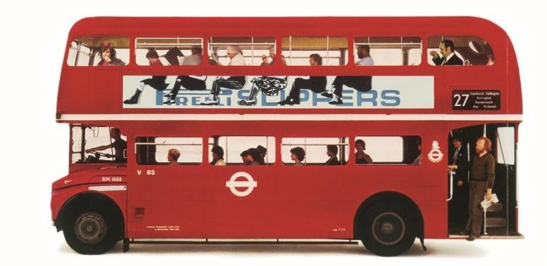 Pirelli-Werbung, 1962 (© Pentagramm/Alan Fletcher)