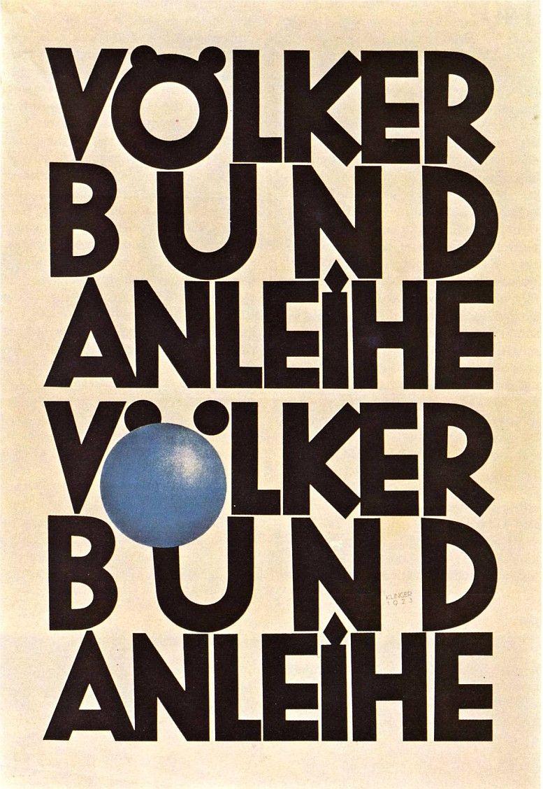 Plakat, 1923