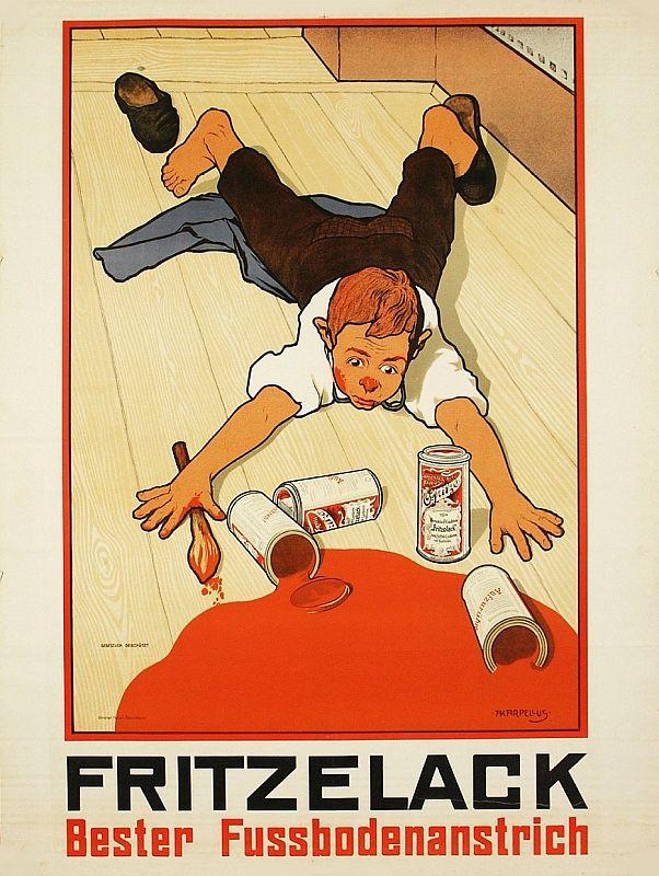 Plakat, um 1910