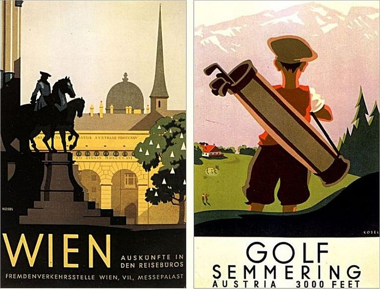 Plakat, 1935 Plakat, 1930