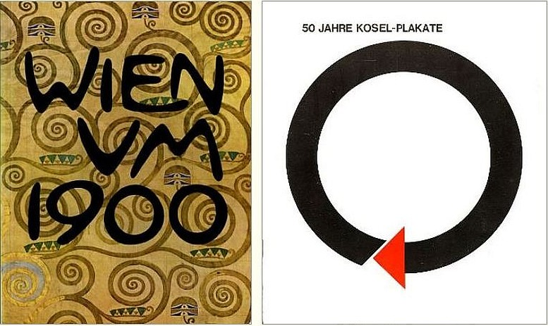 Ausstellungskatalog, Cover, 1964 Ausstellungskatalog, Cover, 1971