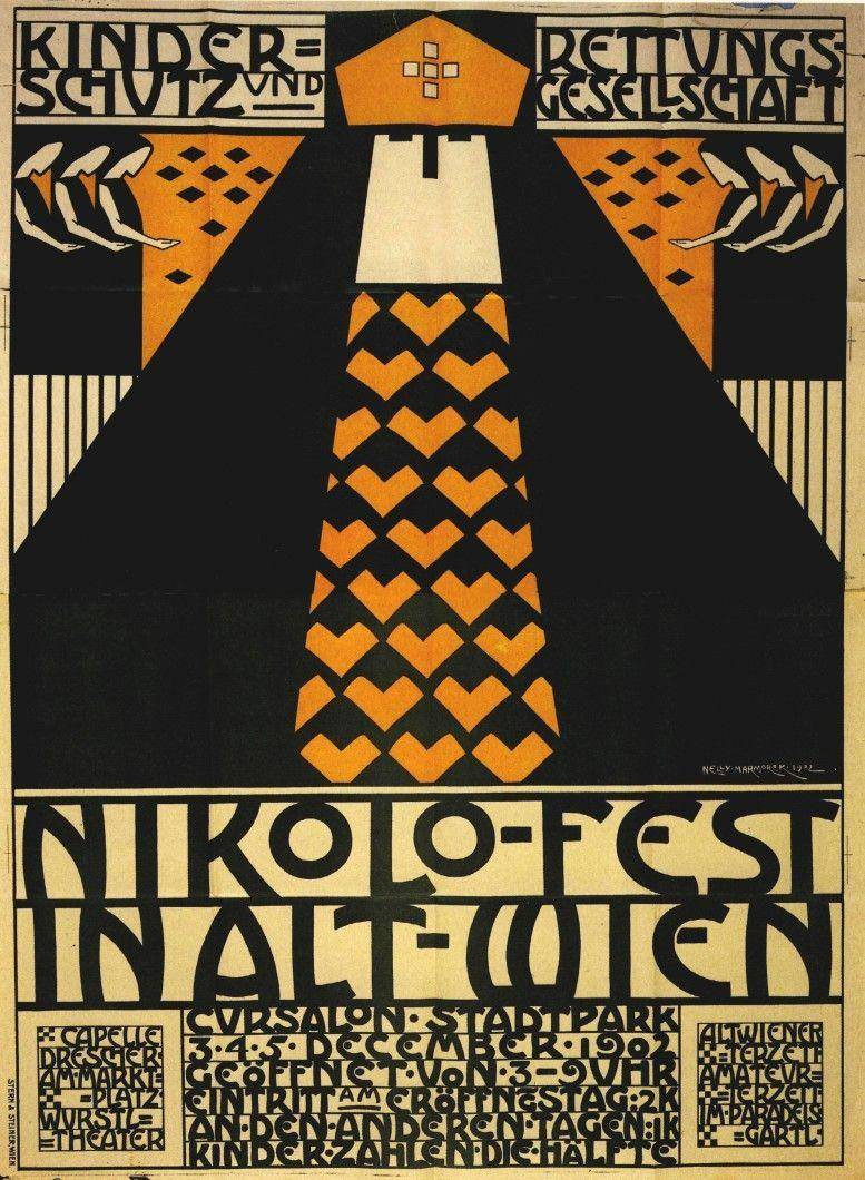 Nelly Marmorek, Plakat, 1902
