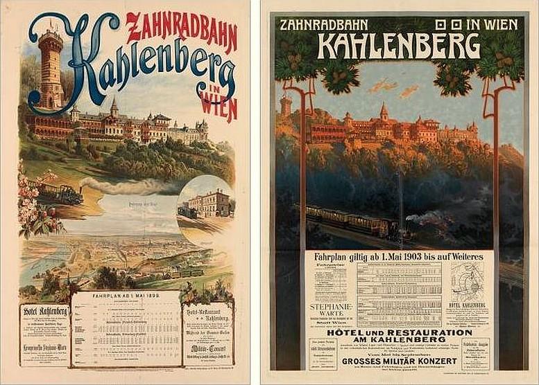 Plakat, 1899 Plakat, 1903