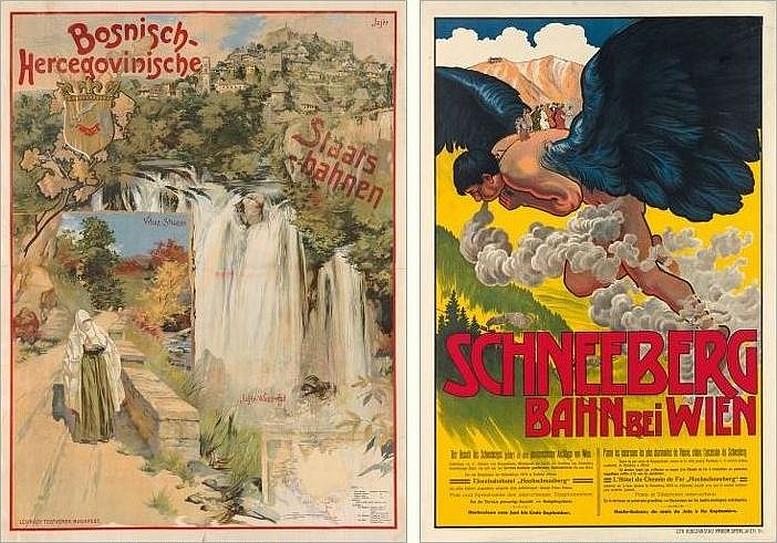 Antal Neogrády, Plakat, ca. 1905 Alfred Roller, Plakat, 1904