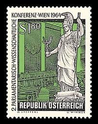 Otto Stefferls erste Briefmarke, 1964