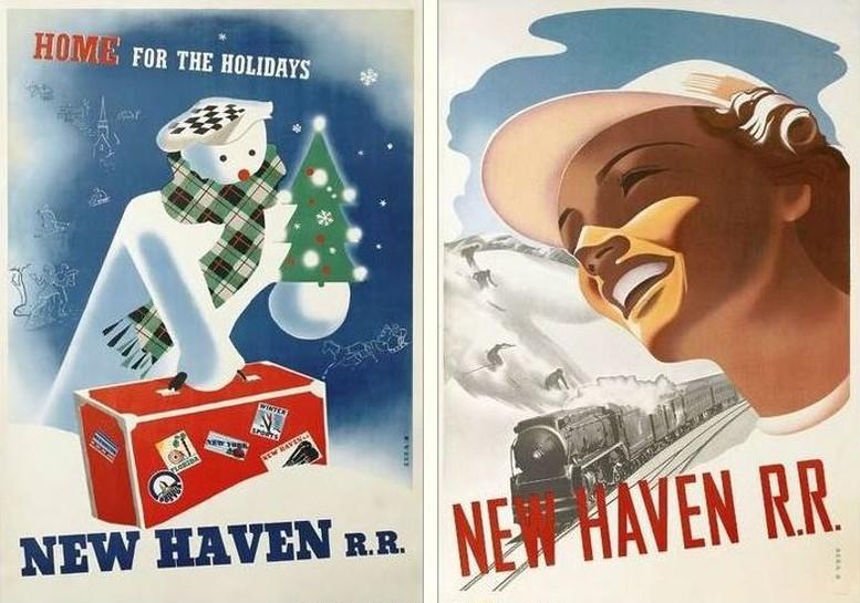 Beide Plakate: Friedrich Veit, um 1940