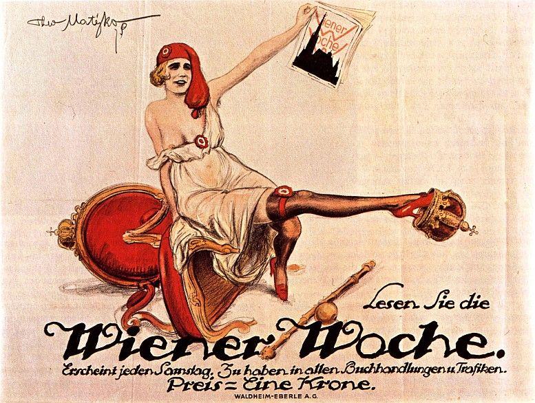 Entwurf: Theo Matejko, 1919