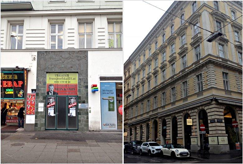Portal Franz-Josephs-Kai 21 / Schellinggasse 6, (Beide Fotos: Christian Maryška, 2016)