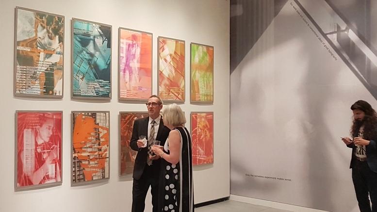Blick in die CYAN-Ausstellung